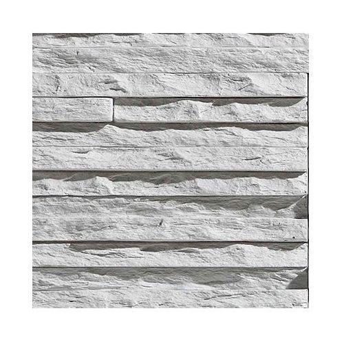 kamień dekoracyjny płytka palermo 1 white 55x14,2cm opk. 0,62m2 marki Stegu
