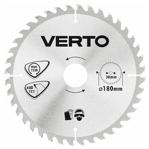 Tarcza do cięcia 61h106 180 x 30 mm do pilarki widiowa marki Verto