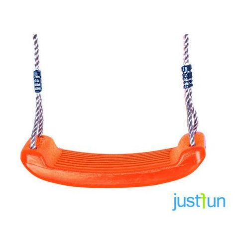 Huśtawka plastikowa - pomarańczowy marki Just fun