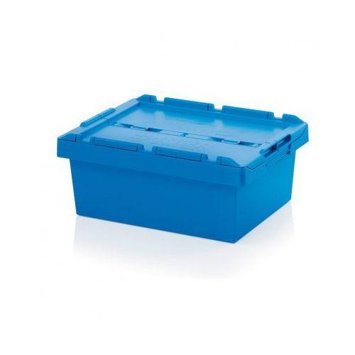 Auer Skrzynka plastikowa z wiekiem, 600x400x240 mm