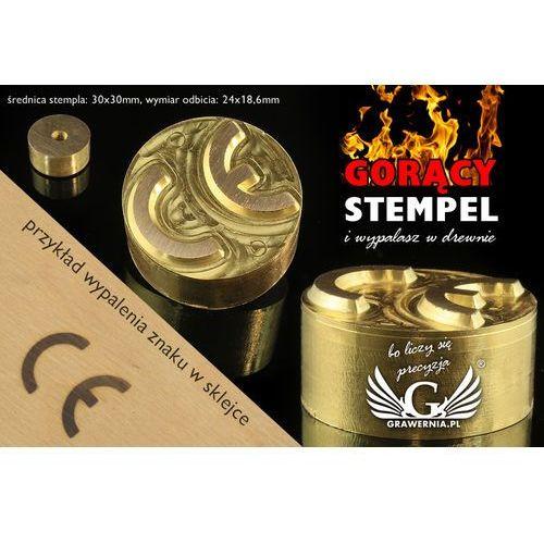 Grawernia.pl - grawerowanie i wycinanie laserem Stempel do wyciskania logotypu na gorąco i zimno - wymiary matrycy: 30x30mm - cnc