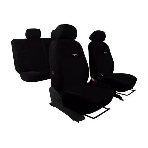 Pokrowce samochodowe elegance czarne mercedes klasa c w203 2000 - 2007 - czarny marki Pok-ter