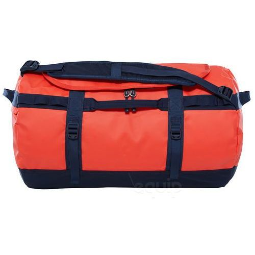 Torba podróżna base camp duffel s ne - poinciana orange marki The north face
