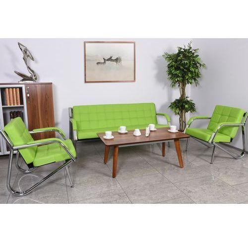 Zestaw wypoczynkowy STILIO 3+1+1, S009-311 green