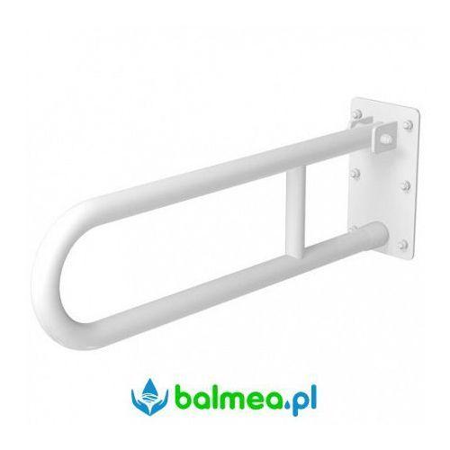 Poręcz uchylna dla niepełnosprawnych 600 mm sw b marki Faneco