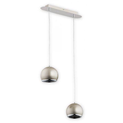 Ibra lampa wisząca 2-punktowa satyna O2382 W2 SAT