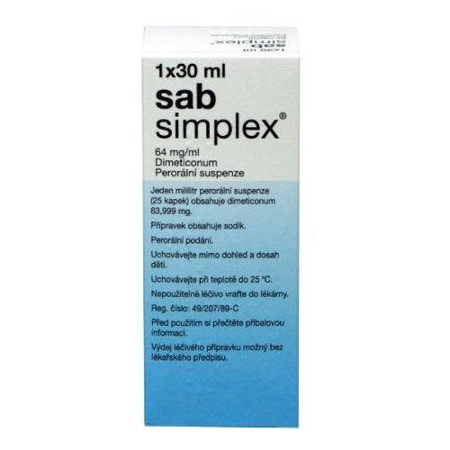 OKAZJA - Krople Krople sab simplex 30 ml.