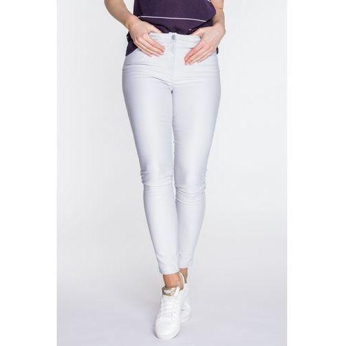 Jasnoszare spodnie jeansowe - marki Emoi