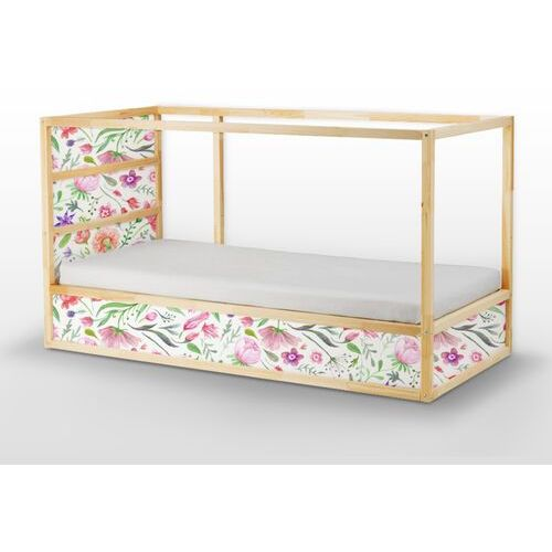 Naklejki Ikea Kura Bed Ogrodowe Kwiaty