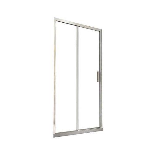 Besco Drzwi prysznicowe wnękowe, przesuwane 100 actis