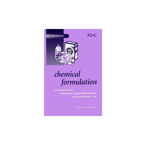 Chemical Formulation, książka z ISBN: 9780854046355