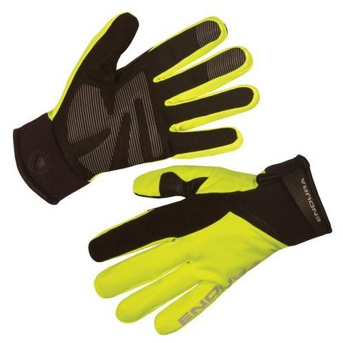 Endura strike ii rękawiczka rowerowa mężczyźni żółty/czarny l rękawiczki szosowe (5055939909639)