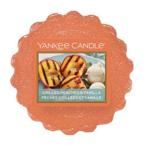 Yankee candle - wosk zapachowy grilled peaches & vanilla