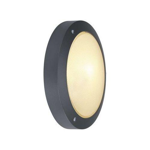 Bulan ścienna/sufitowa, okrągła, antracyt, e14, max.60w, szkło mrożone, 229075 marki Spotline