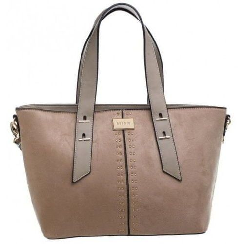 Bessie London torebka beżowa, kolor beżowy
