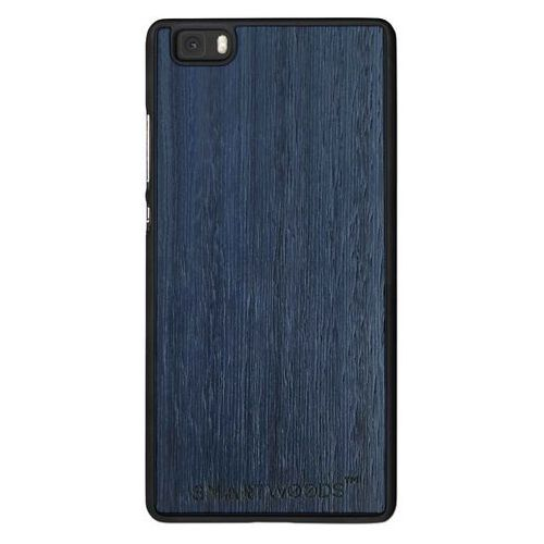 Etui SmartWoods - Blue Sky Huawei P8 Lite, kolor niebieski