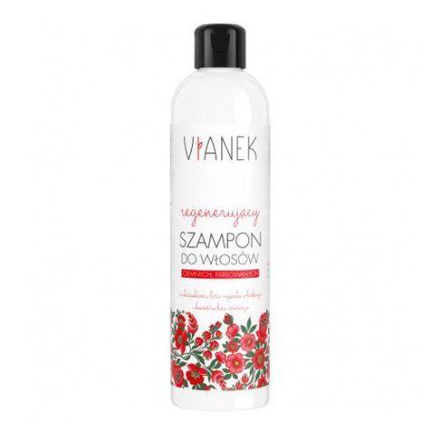 Vianek Regenerujący szampon do włosów farbowanych ciemnych - seria czerwona