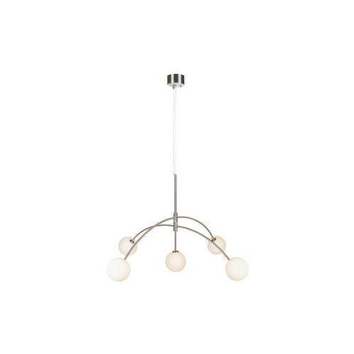 LAMPA wisząca HEAVEN 107559 Markslojd metalowa OPRAWA szklane kule balls zwis stal biały, 107559