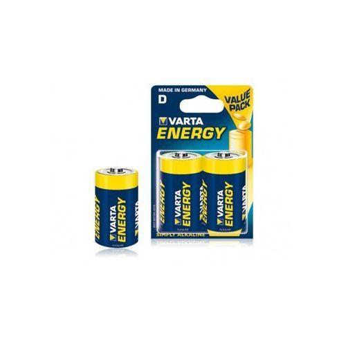 Varta Baterie Alkaliczne R20 typD 2szt energy