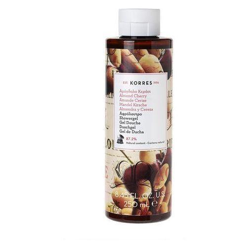 Korres Żel pod prysznic o zapachu słodkich migdałów i świeżych wiśni (5203069058127)