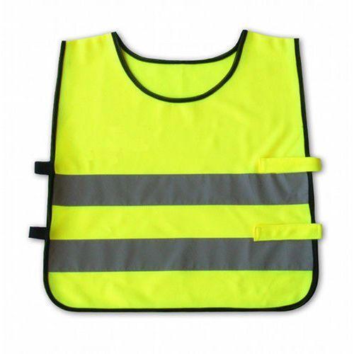 Kamizelka odblaskowa dla dzieci 3 - 6 lat, 42x45cm - żółta marki Kando