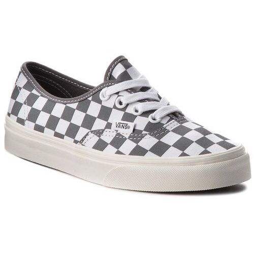 Tenisówki - authentic vn0a38emu531 (checkerboard) pewter/mar marki Vans