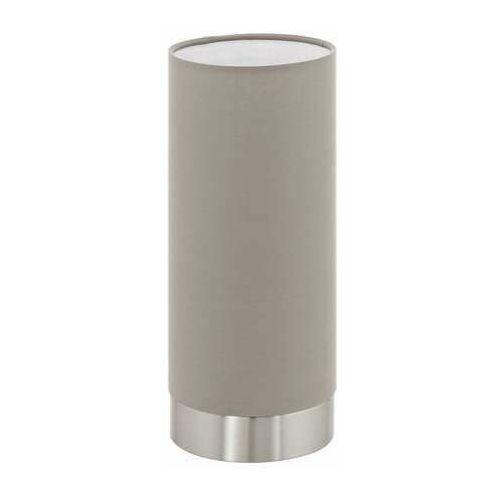 pasteri lampa stołowa nikiel matowy, 1-punktowy - nowoczesny - obszar wewnętrzny - pasteri - czas dostawy: od 8-12 dni roboczych marki Eglo