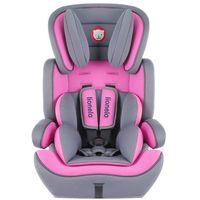 Fotelik 9-36 kg Levi Plus pink, 80040