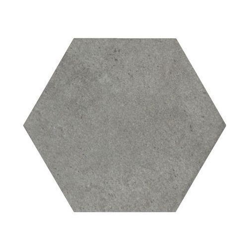 Ceramika pilch Gres szkliwiony hexagon silver 14 x 16.3