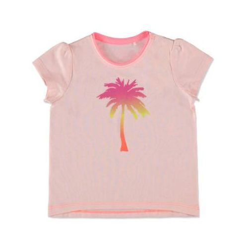 ESPRIT Girls Bluzka z krótkim rękawkiem Palm nude (4056896506269)