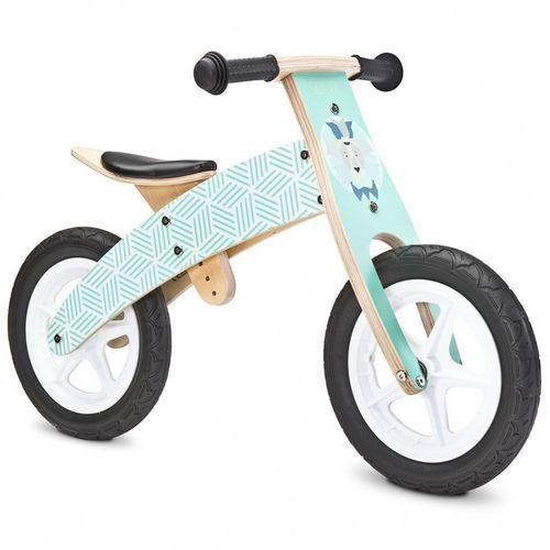 Caretero toyz rowerek biegowy woody mint (5903076300973)
