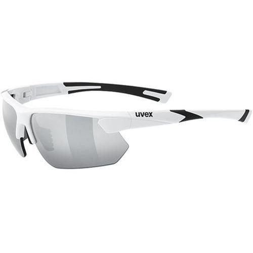 Okulary UVEX Sportstyle 221 biały / Kolor soczewek: srebrne / Rodzaj szkieł: standardowe