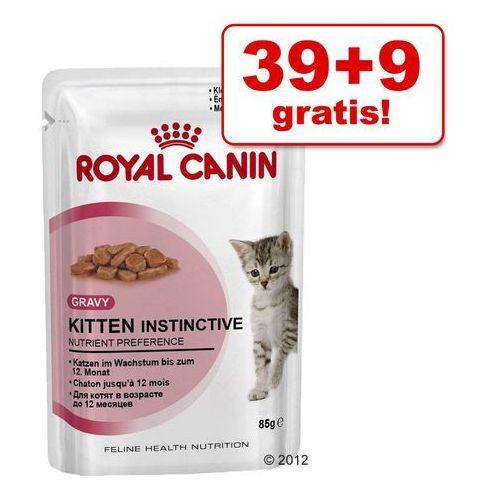 39 + 9 gratis! Royal Canin mokra karma dla kota, 48 x 85 g - Instinctive w sosie| -5% Rabat dla nowych klientów| Darmowa Dostawa od 89 zł i Super Promocje od zooplus!, RC-185490