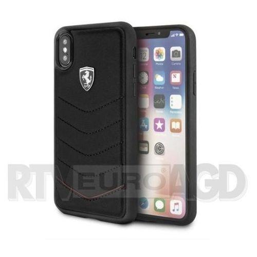 Ferrari FEHQUHCPXBK iPhone X (czarny), kolor czarny