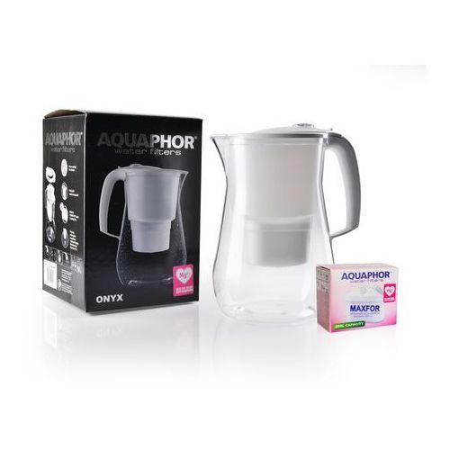 Dzbanek filtrujący Aquaphor Onyx, biały + wkład Aquaphor B100-25, 4744131011844