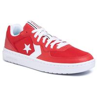 Sneakersy CONVERSE - Rival Ox 167529C University Red/White/White, w 9 rozmiarach