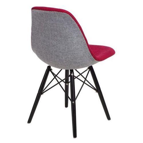 Krzesło p016w duo inspirowane dsw black - szary ||czerwony marki D2.design