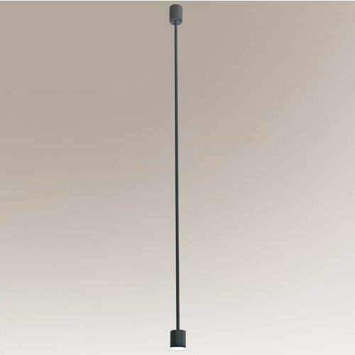 Shilo Lampa wisząca sakata 7832 metalowa oprawa zwis led 6w 3000k loftowy czarny