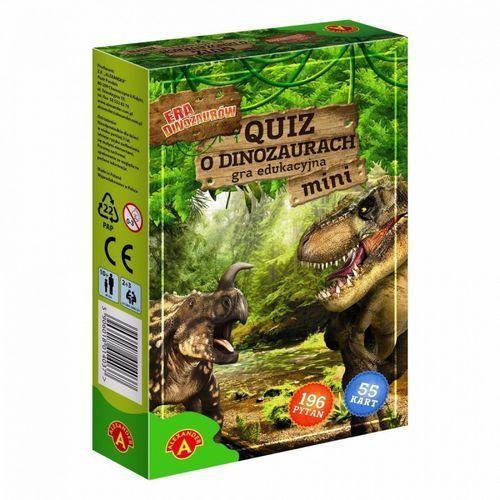 Gra ALEXANDER Quiz o dinozaurach mini, GA-1403 (2566093)