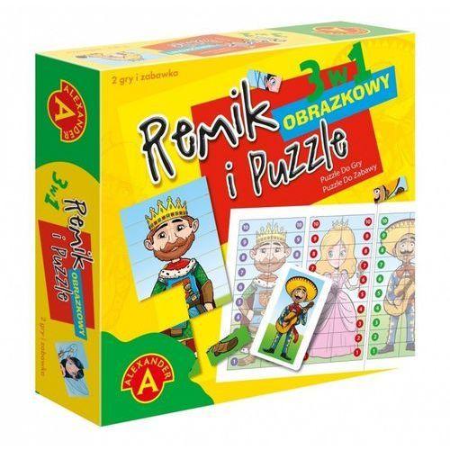 Gra Remik obrazkowy i puzzle