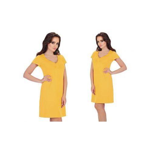 Koszula nocna AFRA: żółty