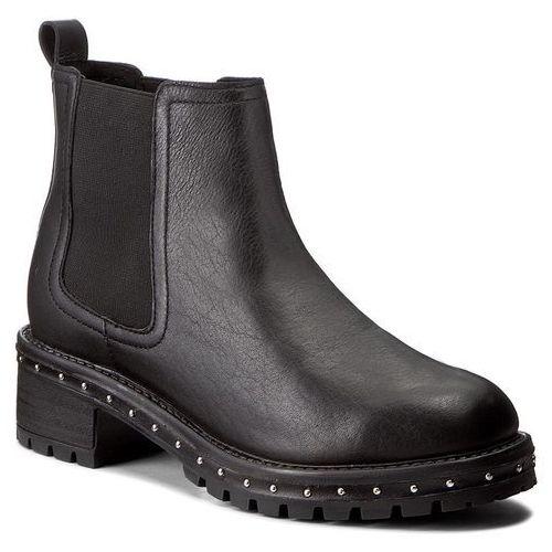 Sztyblety BRONX - 46956-C BX 1417 Black 01, kolor czarny