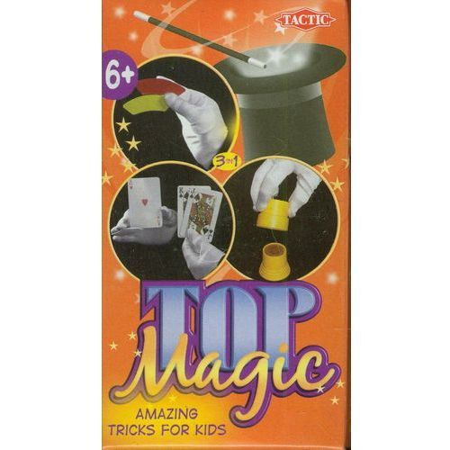 Tactic Top magic 6 - magiczne tęcze, znikająca moneta... (6416739015262)