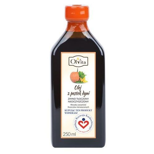 Olej z pestek dyni zimnotłoczony 250ml Olvita