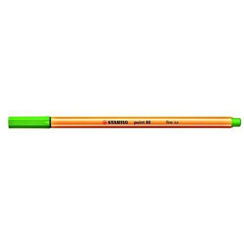 Cienkopis STABILO point 88 0,4mm liściowa zieleń 88/43