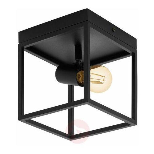Eglo silentina 98331 plafon lampa sufitowa oprawa 1x40w e27 czarna