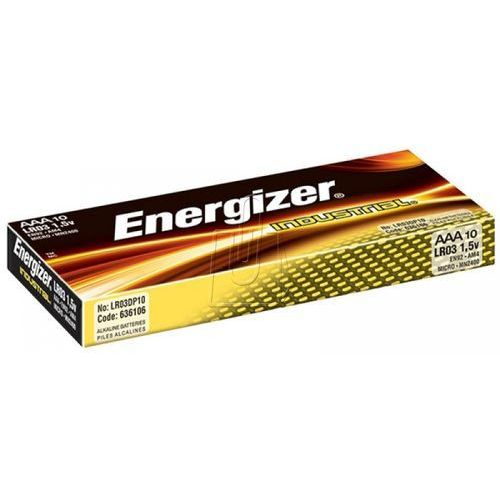 Energizer Baterie lr03 aaa industrial 10 sztuk