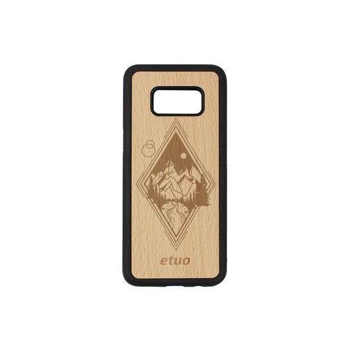 Etuo wood case Samsung galaxy s8 - etui na telefon wood case - buk - górski widok