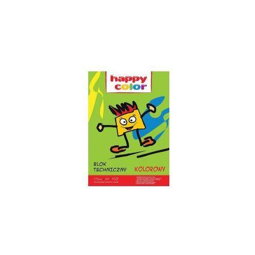 Blok techniczny kolorowy A3 HAPPY COLOR 170g, 5905130107009_20160711175250