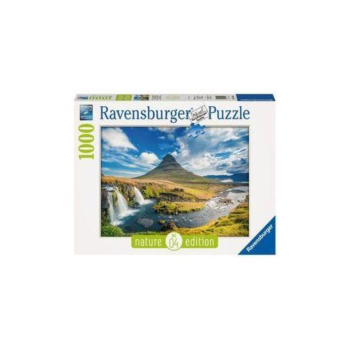 Ravensburger Raven puzzle widok na kirkjufell